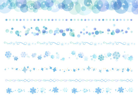 Watercolor material 027 Winter's line set