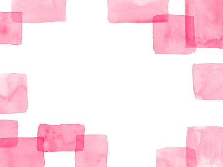 Watercolor background four corners 8