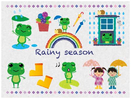 Rainy season material