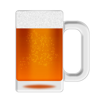 Brown beer (mug)