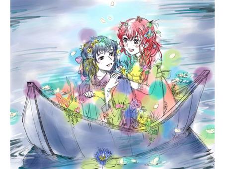 A waterside girl