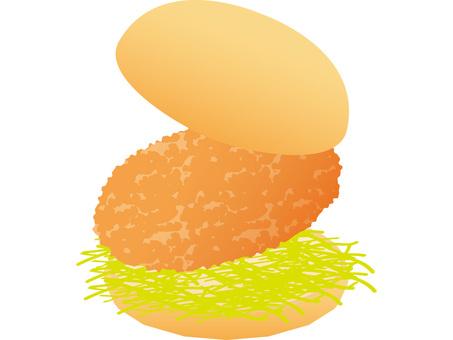And burger