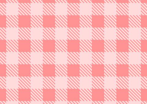 Buffalo Check Pink background