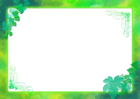 Leaf message card