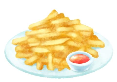 감자 튀김
