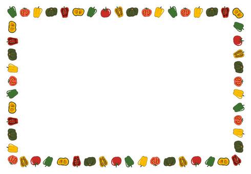 Summer vegetable line (frame)