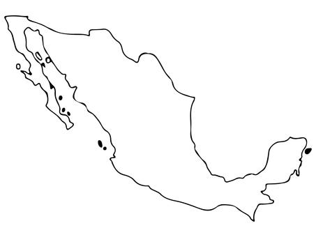メキシコ地形