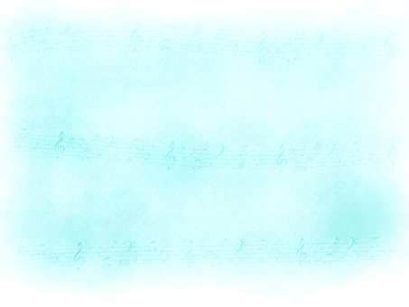 Background material Watercolor sheet music