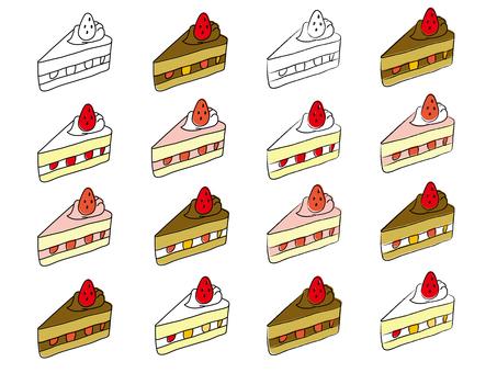 Strawberry shortcake 【Pass available】