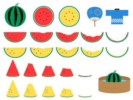 Eat whole watermelon