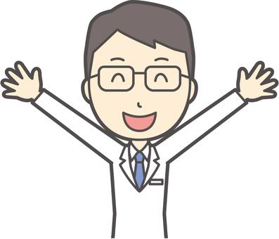 醫生青年眼鏡 -  072  - 胸圍