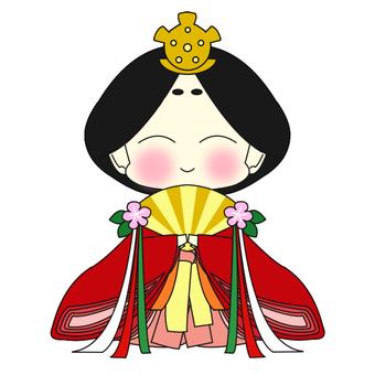 Hinako of Hina Festival