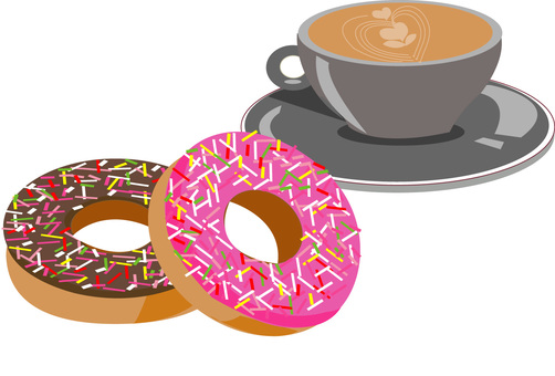 Donut and Latte