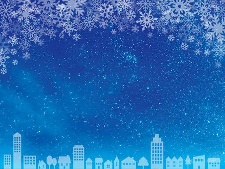 겨울 하늘 -10