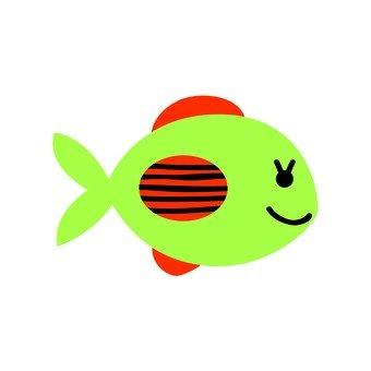 Green fish 13