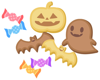 Halloween cookie 4