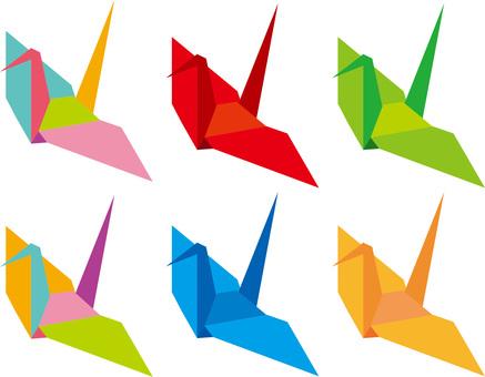 List of folding cranes
