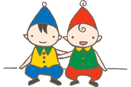 Fairy children - friends
