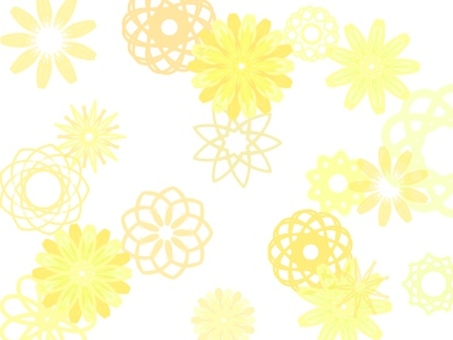 Flower handle wallpaper (yellow flower)
