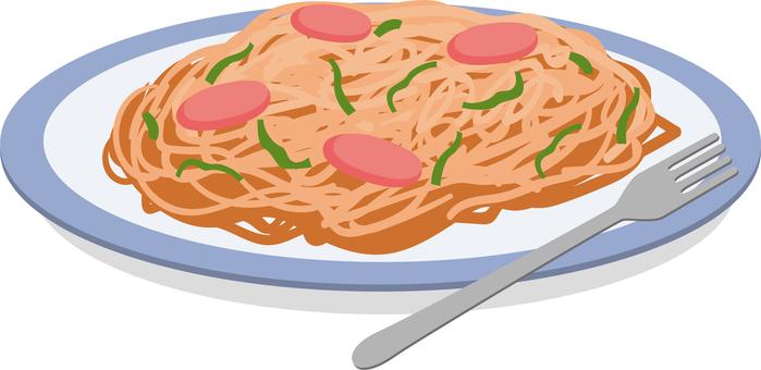 意大利麵條那不勒斯