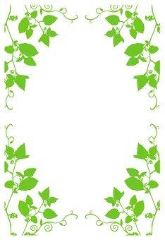 잎의 프레임