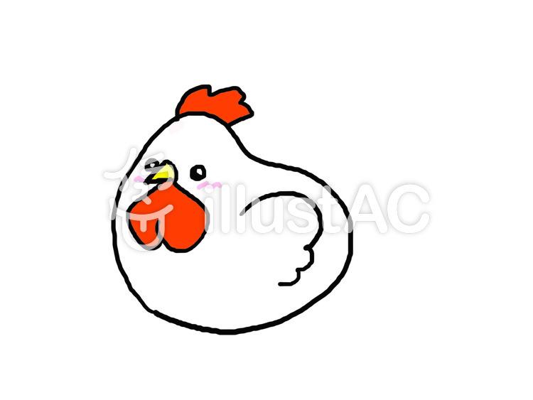 かわいい鶏 カラーイラスト No 617944無料イラストならイラストac