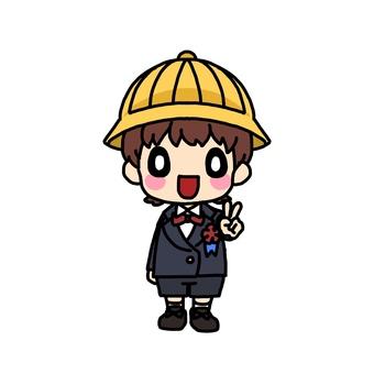 Elementary school entrance ceremony (boy)