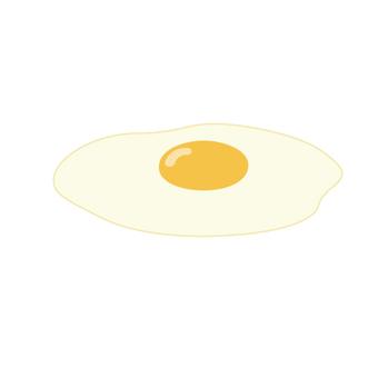 Egg egg (fried egg)