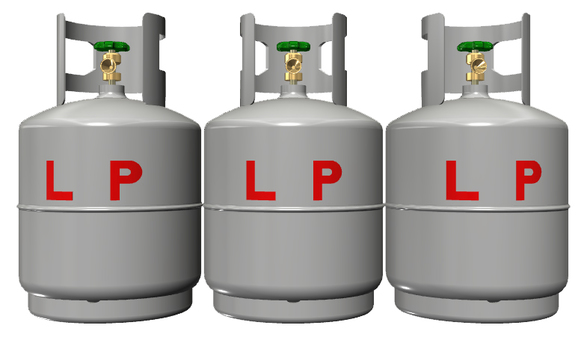 LP gas