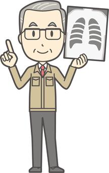 Middle-aged male homework -137-full body