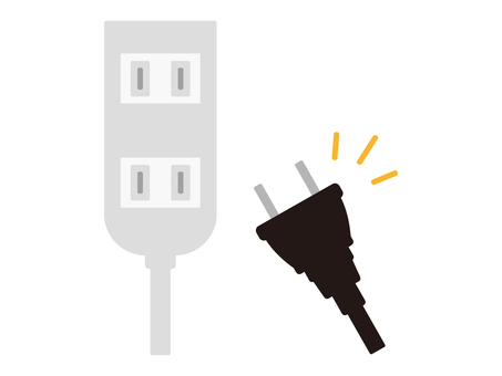 Power strip and power plug