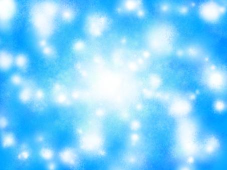 Blue background Underwater image