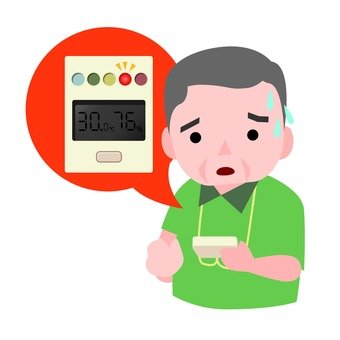 Heat stroke meter and grandfather