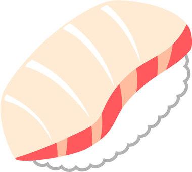 Sushi of salmon