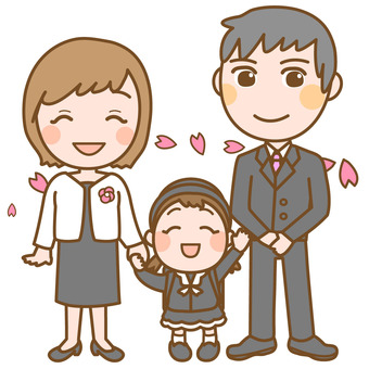 Family of entrance ceremony