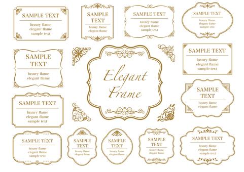 Elegant Frameset 4
