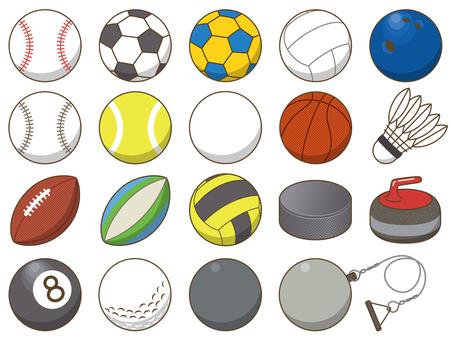 球技に使うボール