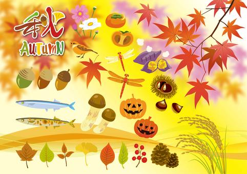 Autumn motif