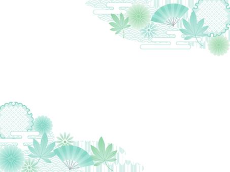 푸른 단풍