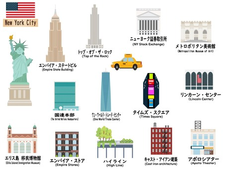 US tourist destinations ①New York