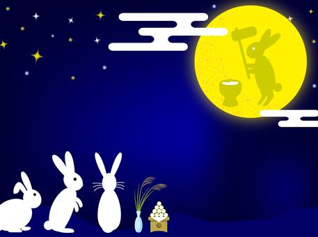 兔子月亮視圖·背景1