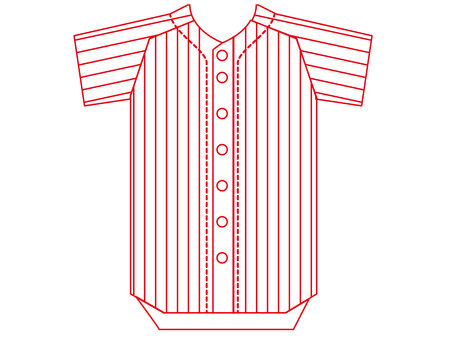 Baseball uniform jersey 5