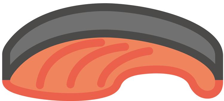 Fish salmon salmon