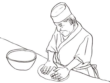 Soba Noodle maker 03