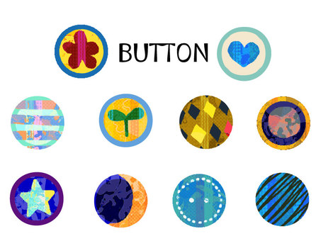 """Colorful"" buttons Various"