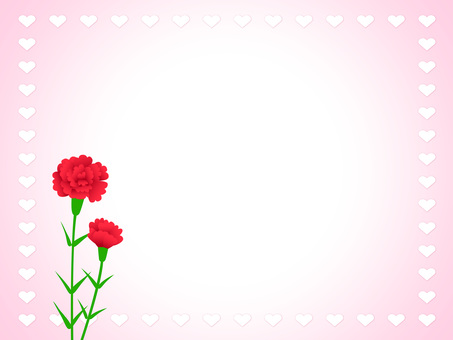 Carnation and Heart 1-2