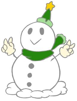 Snowman green (pale version)