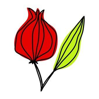 Scandinavian fruit (red)