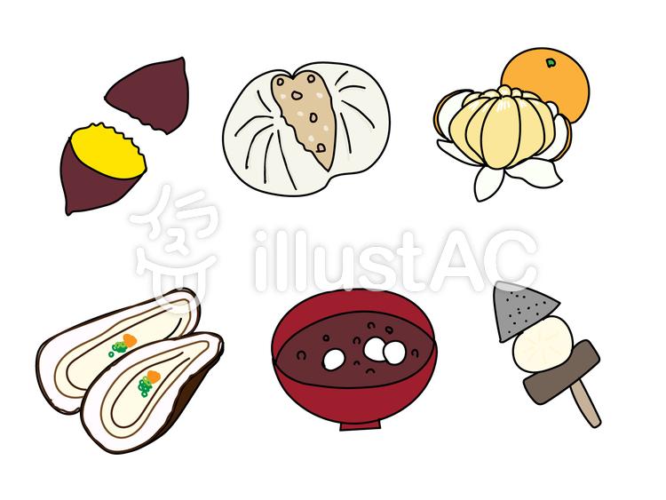 冬の食べ物イラスト No 655564無料イラストならイラストac