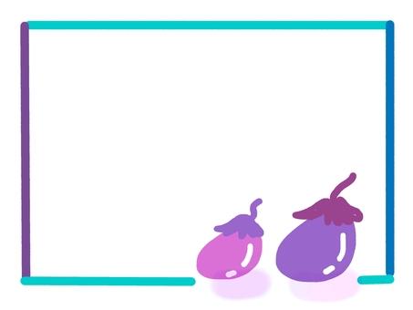 Eggplant frame